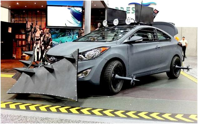 Hyundai Zombie Survival Car