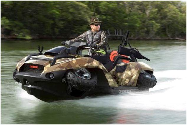 Gibbs Quadski Amphibious 4 Wheel Drive Quad