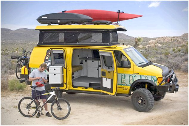 Sportsmobile Ultimate Adventure Vehicle