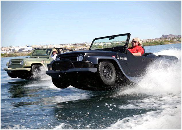 WaterCar Panther Amphibious Jeep