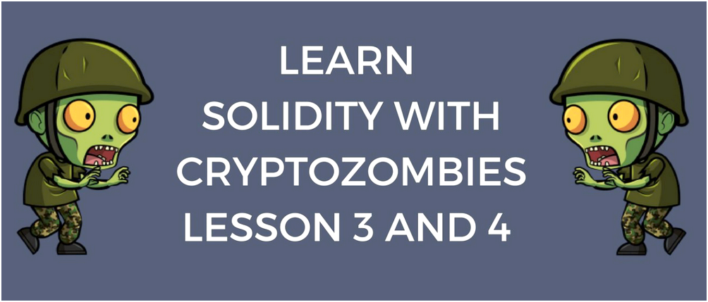 Advanced solidity concepts — cryptozombies lesson 3 and 4 is the smart contract address