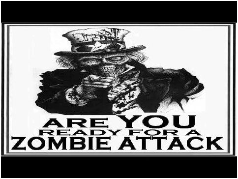 Cdc warns public to organize for 'zombie apocalypse' Including in which you would