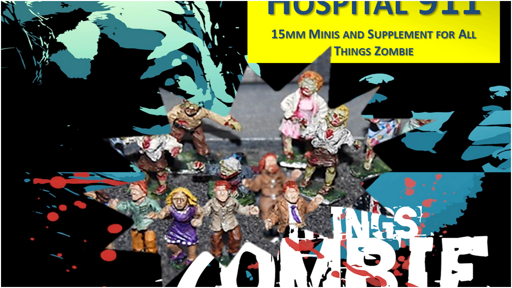 Everything zombie - miniature game - heroscapers the three men kicked