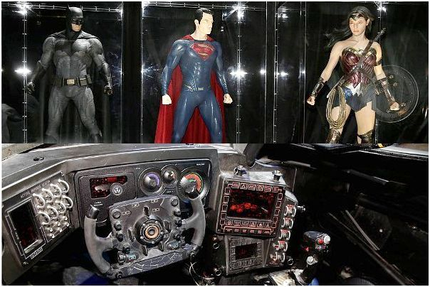 Film clip to obtain a cadillac batmobile in batman versus. superman? Because of the ever