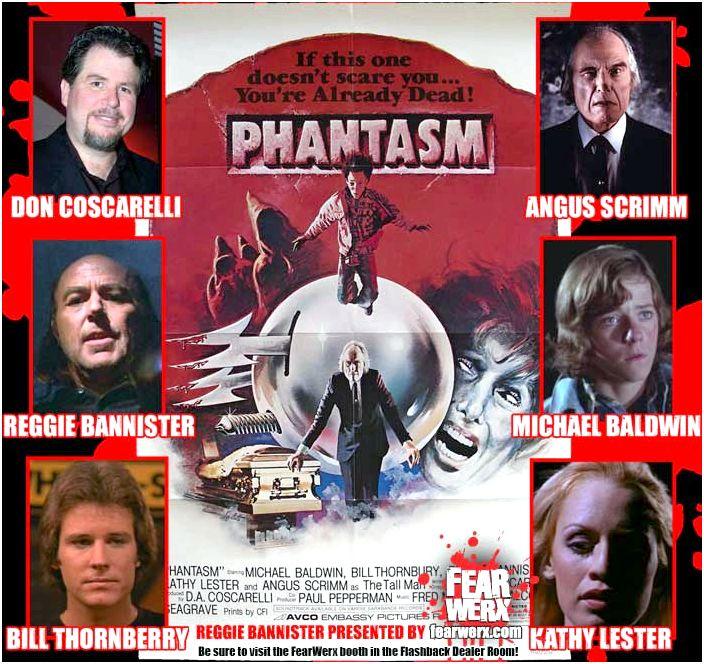 Phantasm : Don Coscarelli  Angus Scrimm  Reggie Bannister  Michael Baldwin  Bill Thornberry  Kathy Lester
