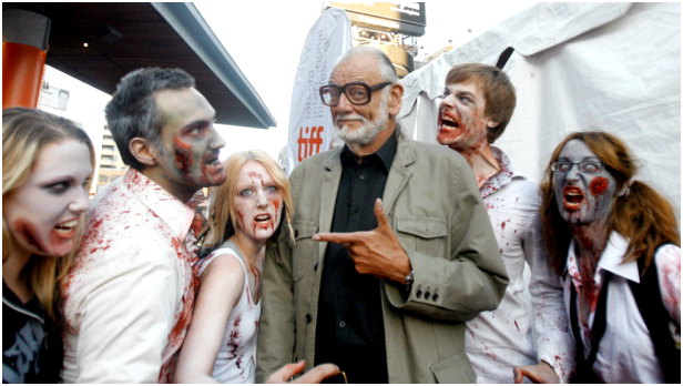 George a. romero and also the concept of his zombies Peter Stormare