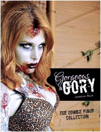 Gorgeous & gory: the zombie pinup collection book reviews figures showcased