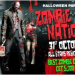 Halloween thrills: zombie nation