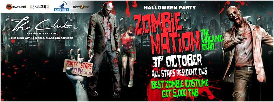 Halloween thrills: zombie nation Turbo Rec and Zombie Nation
