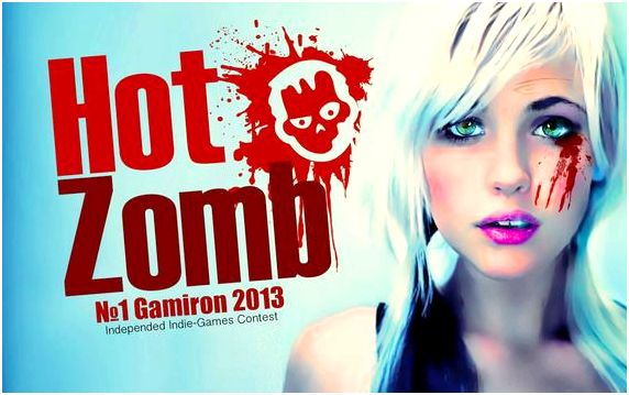 Hot Zombie - Shooter poster