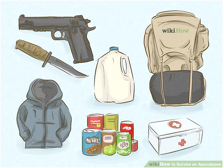 How you can survive an apocalypse (with pictures) - wikihow can warn about opponents in