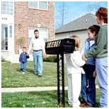 Picture of Family by mailbox