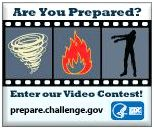 are you prepared? video contest badge