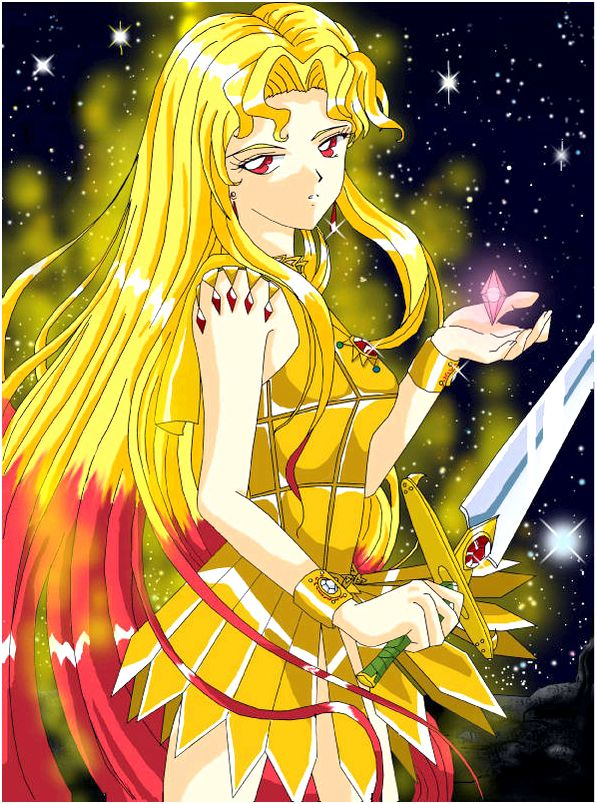 Sailor man galaxia also the only rival