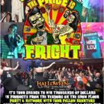 The cost is fright game show party at transworld's halloween & attractions show