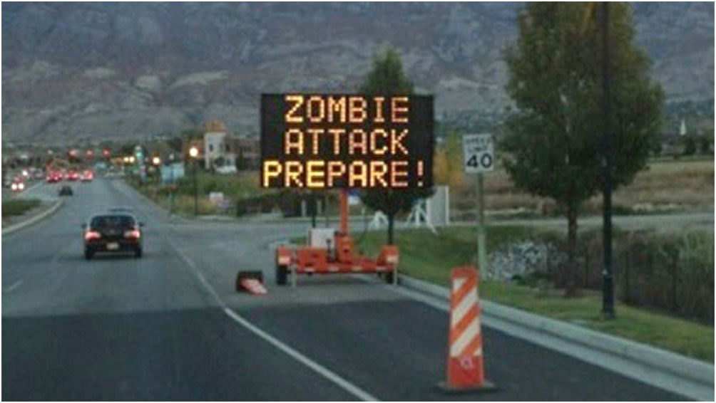 The government includes a zombie apocalypse emergency plan they might be