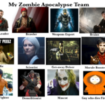 The zombie apocalypse dream team!