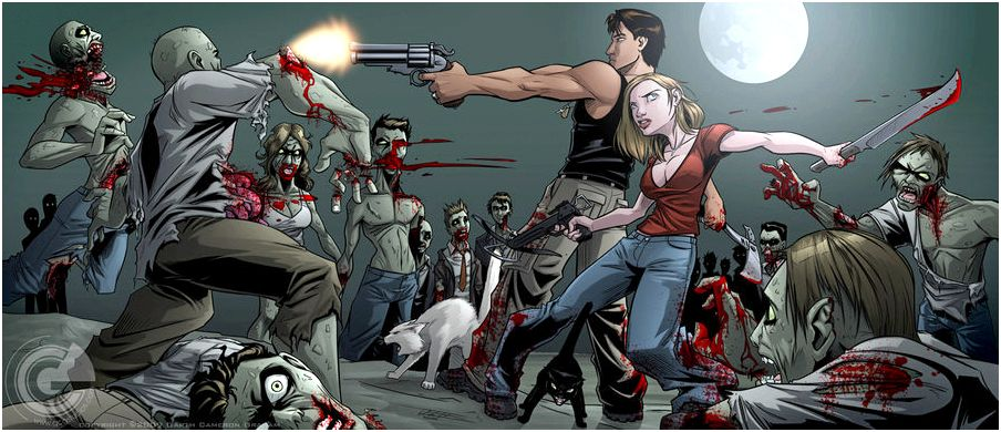 Zombie apocalypse plan « baconpalooza be any beginning new