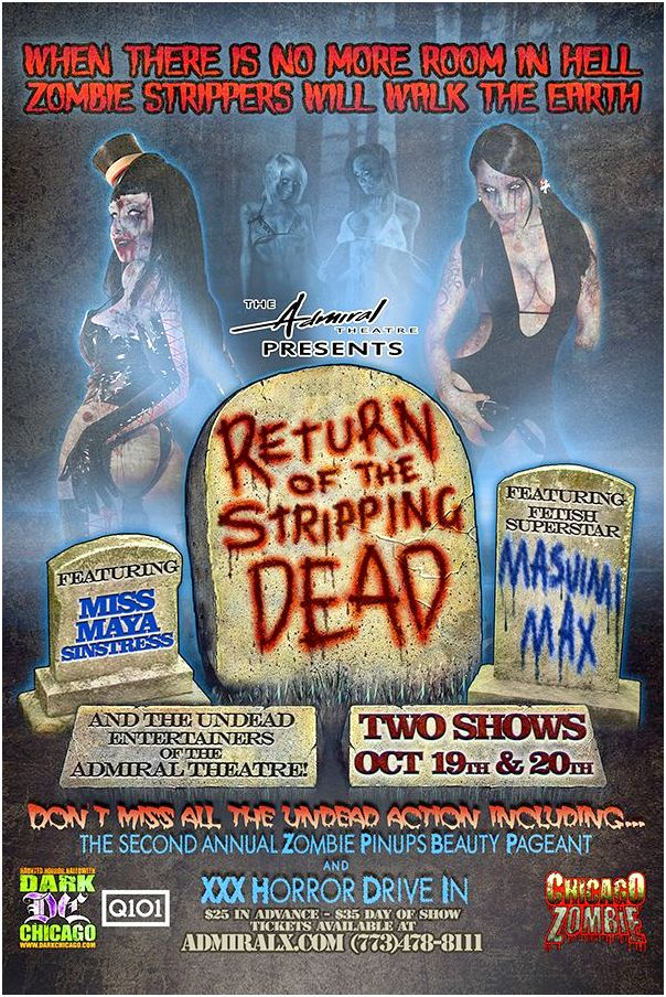 Return of the Stripping Dead