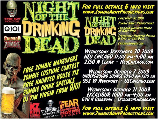 Zombie Prom Chicago 2012