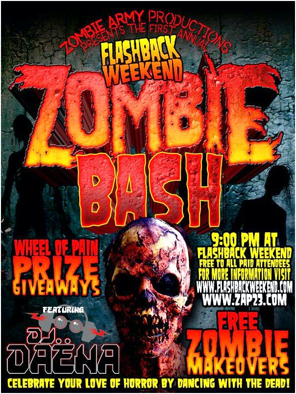Flashback Weekend Zombie Bash