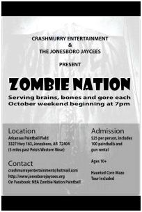 Zombie Nation 2013 Flyer