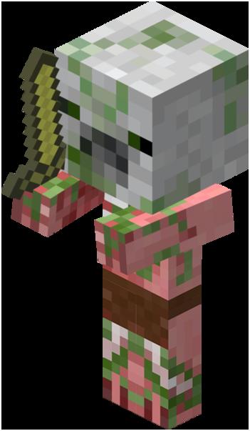 Zombie pigman – official minecraft wiki block tick