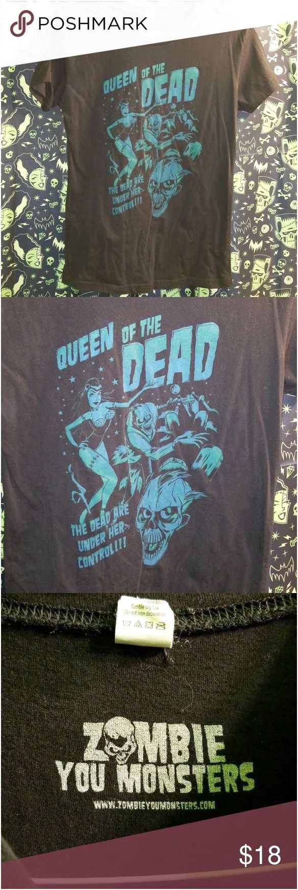 zombie pin up girl t shirts